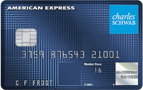 schwab investor card from american express