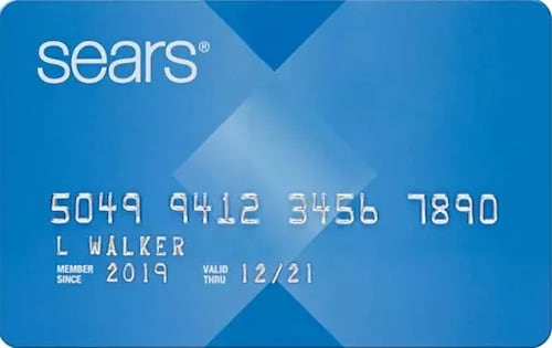 sears store card