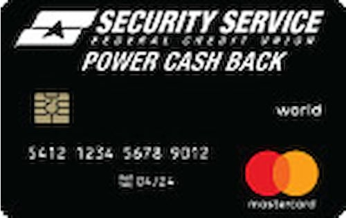 security service power cash back world mastercard