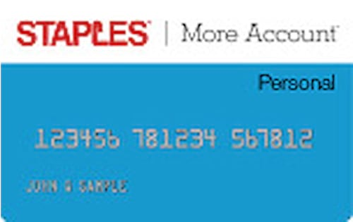 staples credit card