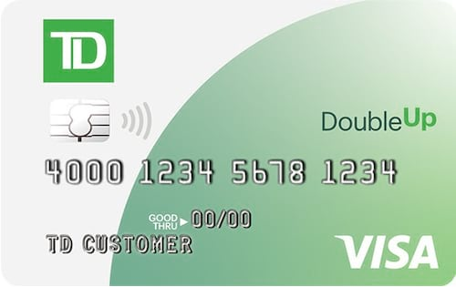 td double up card