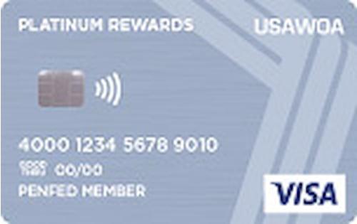 u s army warrant officers association usawoa platinum rewards credit card