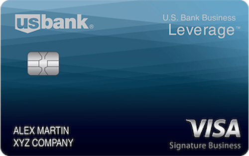 u s bank business leverage visa card