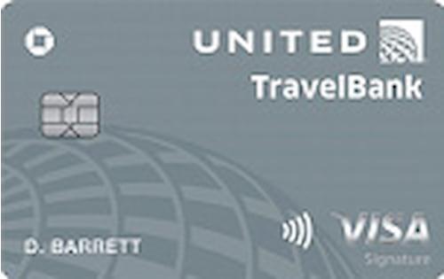 united travelbank card