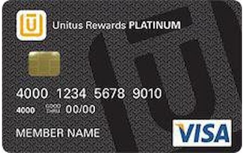 unitus platinum rewards visa card