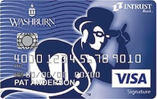washburn university credit card