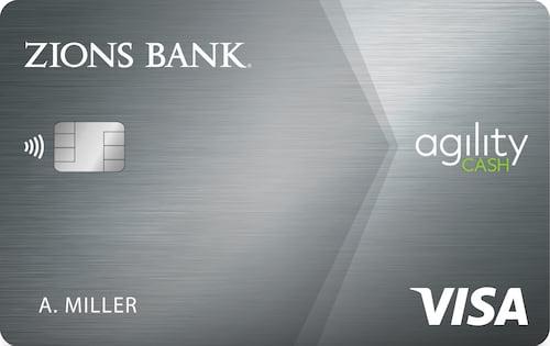 zions bank amazing cash back credit card