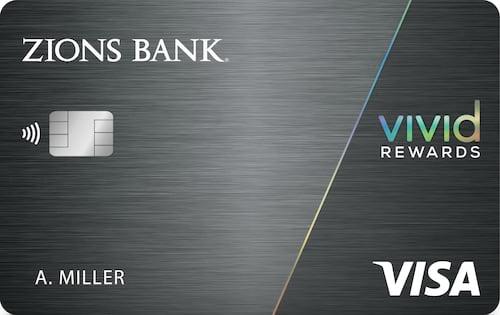 zions bank vivid rewards credit card