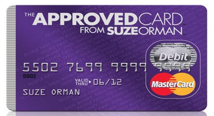 Suze Orman Prepaid Card Evaluation