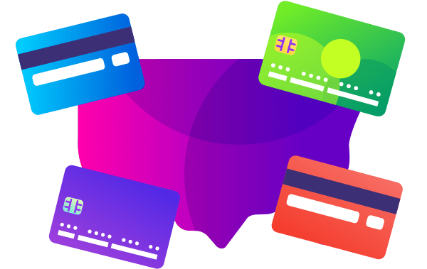 number of credit cards and credit card holders