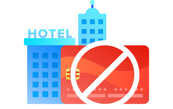 book hotel without a credit card
