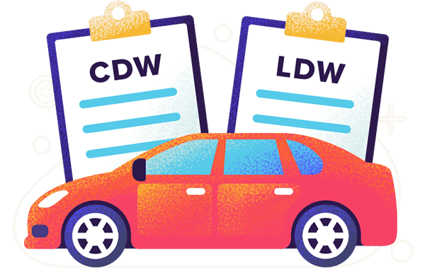 collision loss damage waiver what it is should you buy it