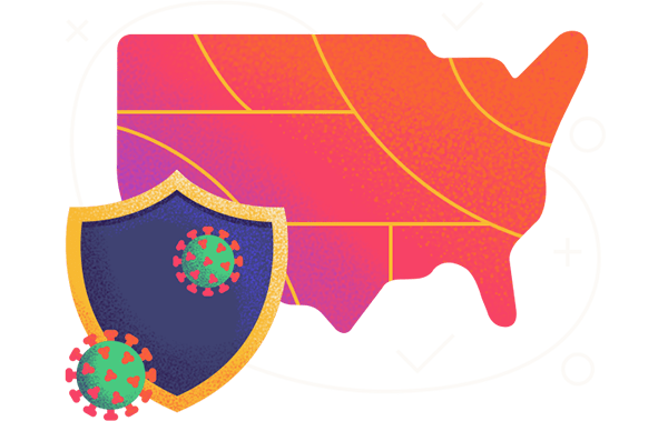 safest states during covid19