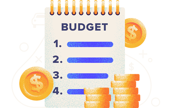 how to make a budget step by step instructions