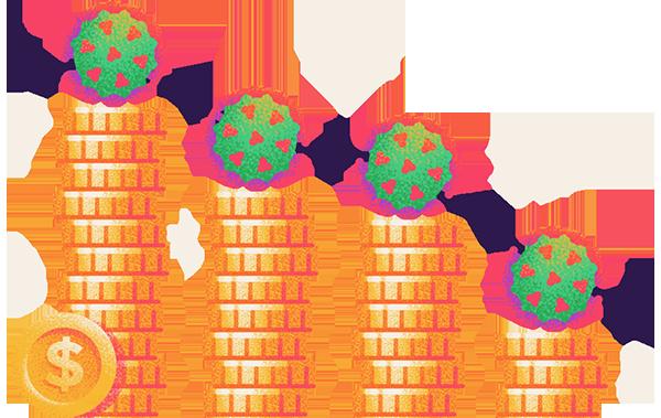 state economies hit the most by coronavirus