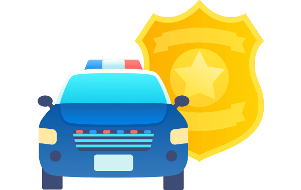 best worst states for police officers