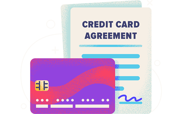 credit card agreement hero