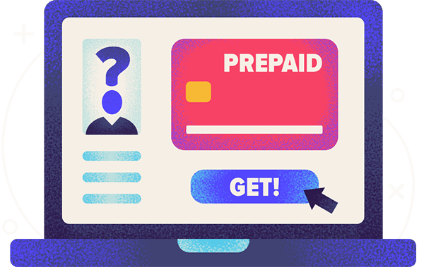 personal information to get a prepaid credit card hero