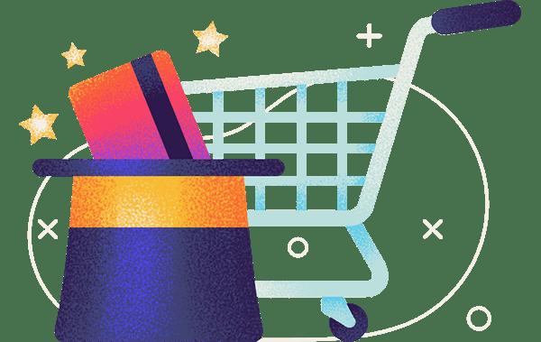 shopping cart trick hero
