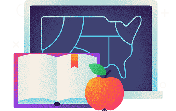 best worst states for teachers