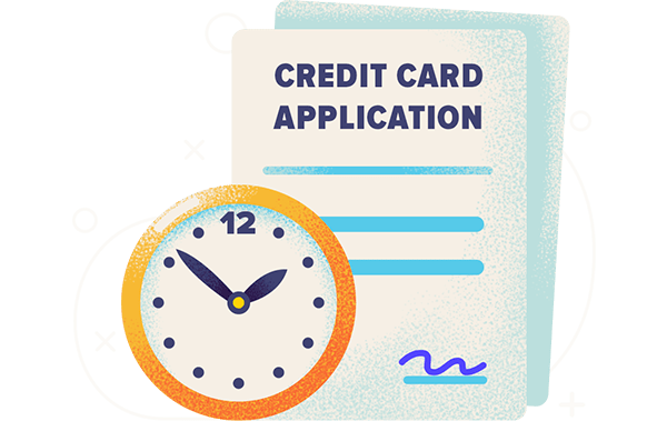 how long does it take to get a credit card hero
