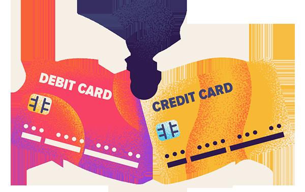 debit or credit hero